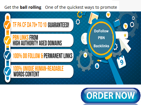 Add 100 Permanent PBN DoFollowlinks from our Private Blog Networks