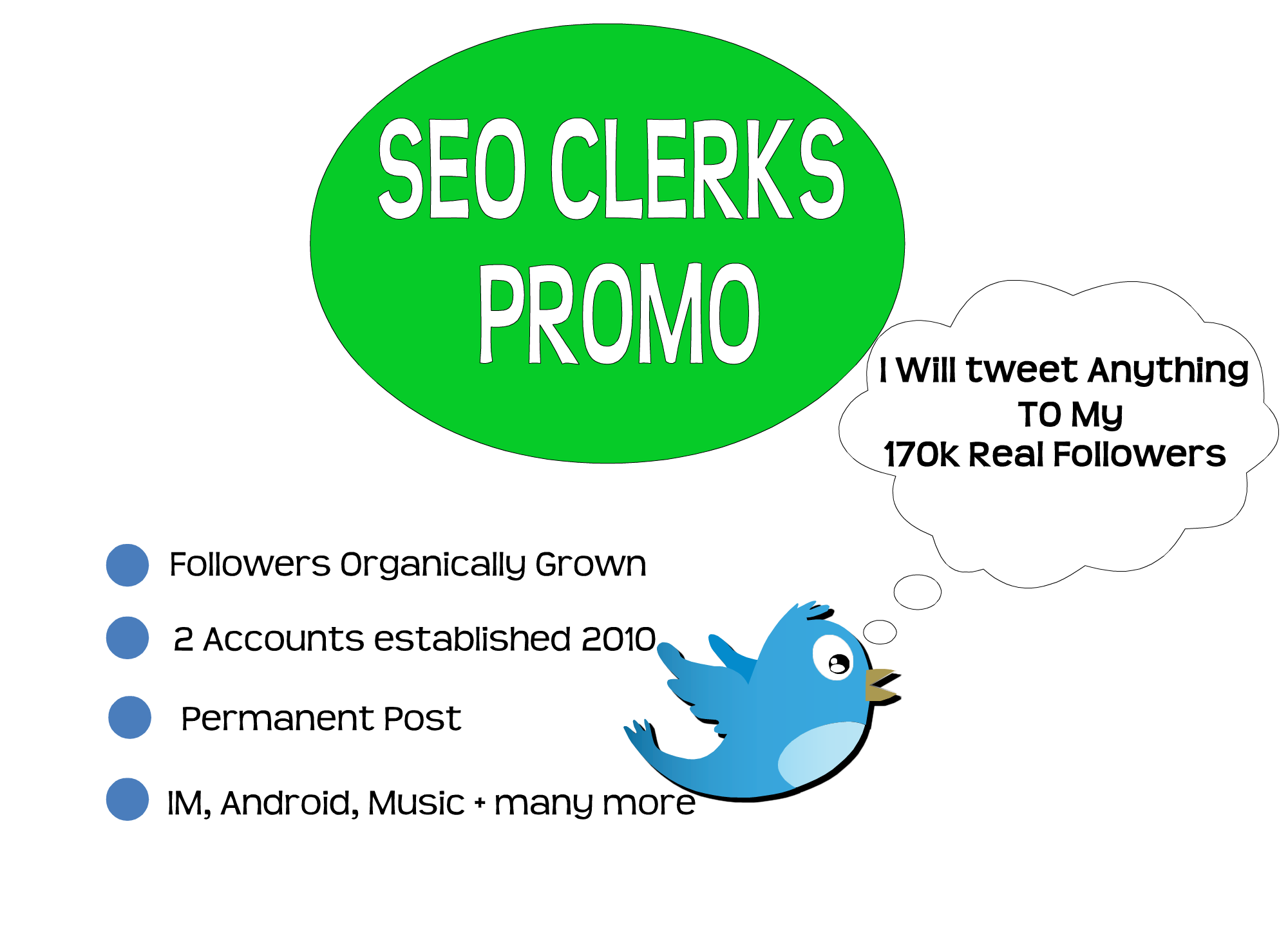 promote your Business,  product or service to 170k