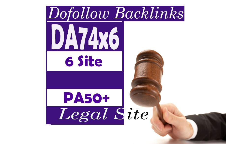 Give Link DA74x6 Legal Site Blogroll Permanent