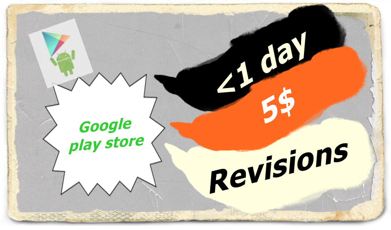 publish your app at google play store (within 3 hours, unlimited revisions ).