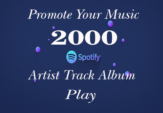 Do 2000 High Quality Real Music Promotion