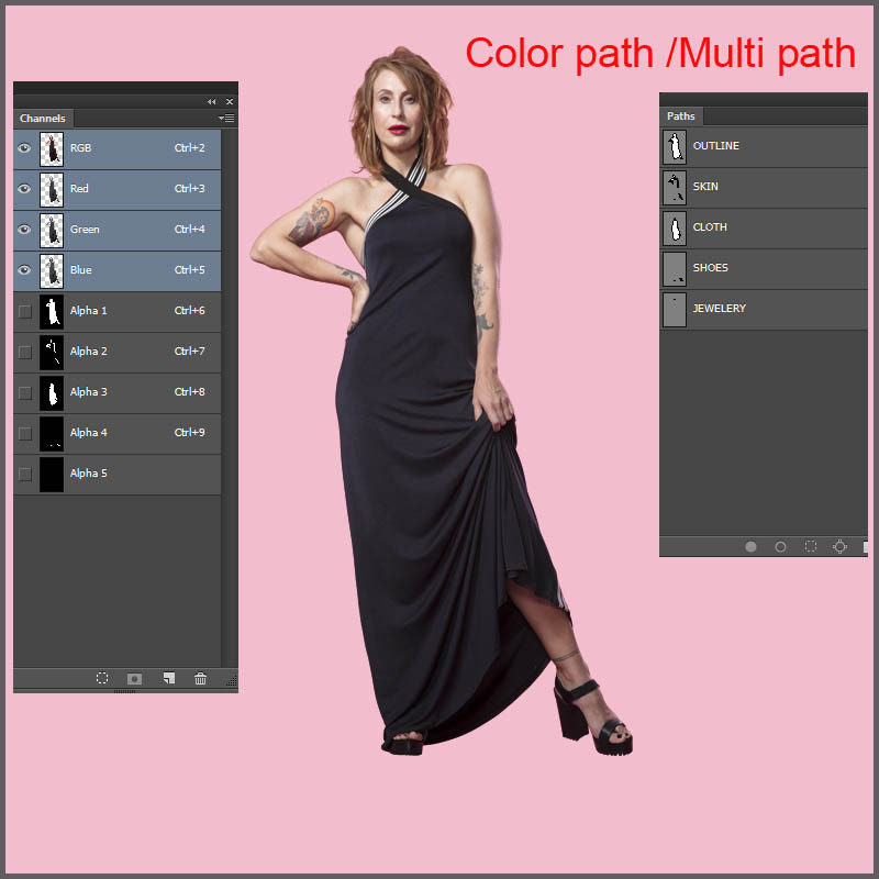 5 Image Clipping path Money-Back Satisfaction Guarant...