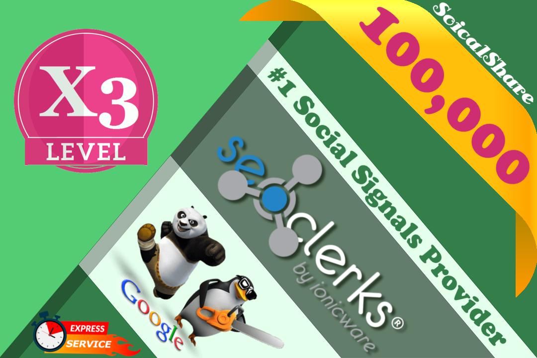 100,000 PR9 Pinterest Share Permanent Social Signals Important For Website SEO Ranking Factors