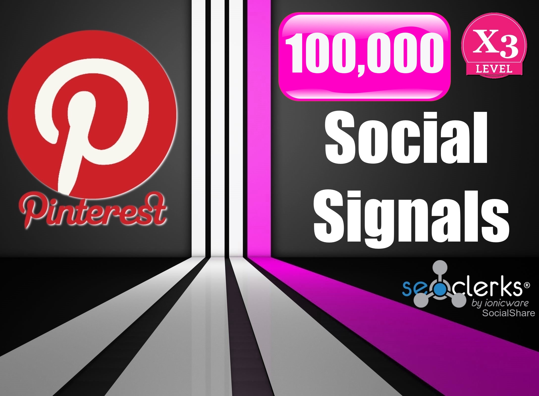 100,000 Strongest PR10 USA Permanent Pinterest Social...