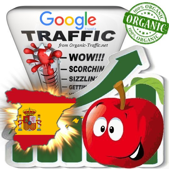 Spanish Search Traffic from Google. es