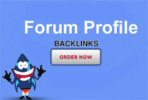 I will do 100 forum profiles backlinks
