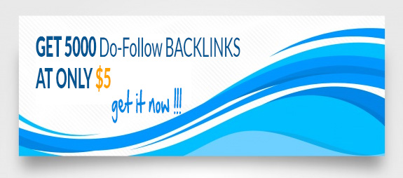 We will give 5000 DoFollow Backlinks, indexing with 95+ crawled rate