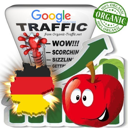 German Search Traffic from Google.de