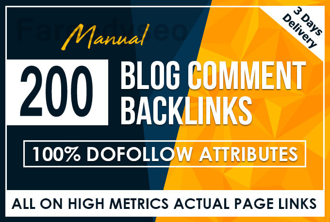 Provide 250 Dofollow Blog Comments Backlinks High Quality