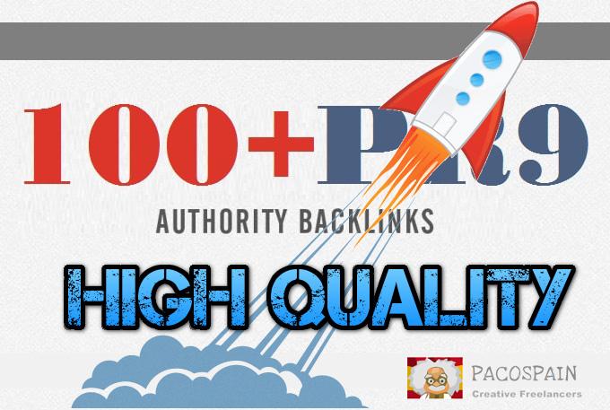 create 100 high PR9-7 backlinks