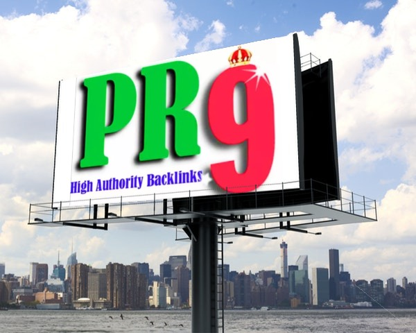 Backlink in PR9 Website