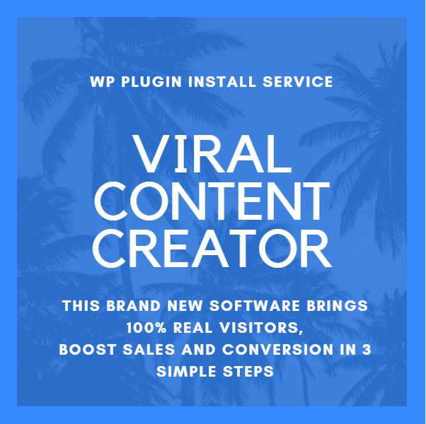 Install Wordpress Viral Content Creator