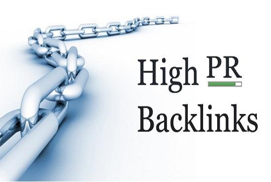Do 50 High Trust Flow And High PR Backlinks High Da