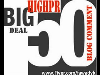 do manual 50 Highpr Blog Comment 10PR5 10PR4 15PR3 15PR2 Dofollow Link.