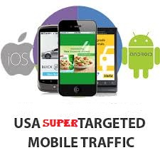 Keyword Target Mobile traffic,  USA organic visitors for 30 days
