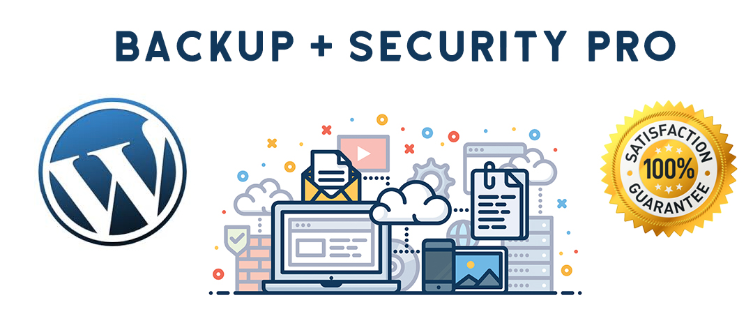 backup and secure your wordpress website