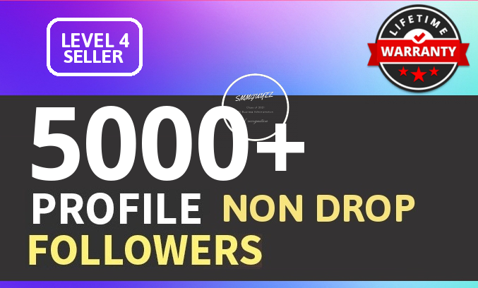Add 5000+ High Quality Fast Profile Followers