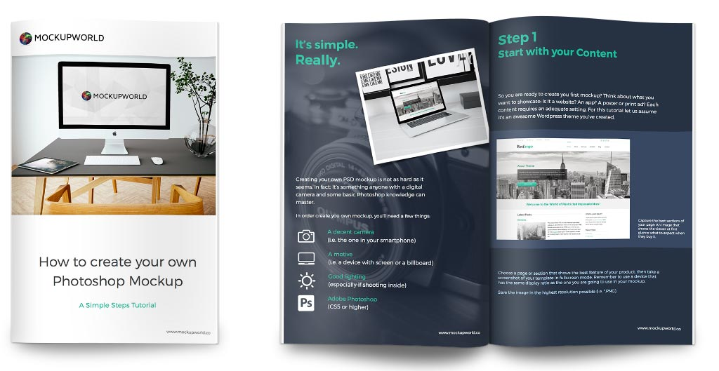Design 5 pages Ebook,  Booklet,  PDF Book with Cover page