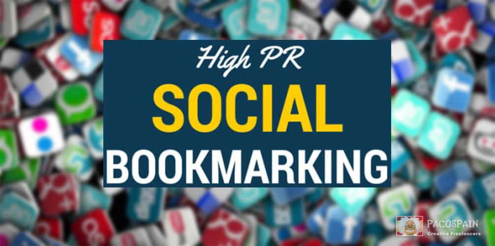 Provide you manually 25 Top PR10-5 Social Bookmarks