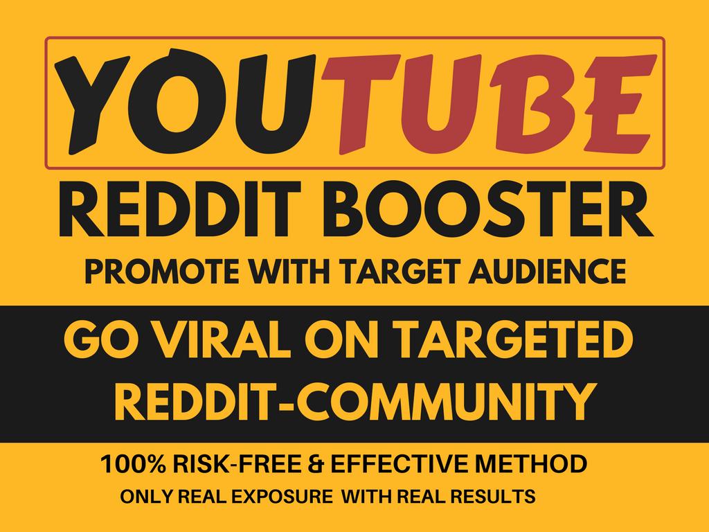 Do Viral YouTube Video Promotion On REDDIT
