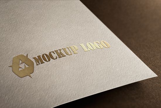 I will we gives you a high quality 3d realistic mockup logo design