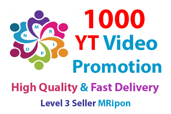 Start Instant 1000 High Quality Video Views