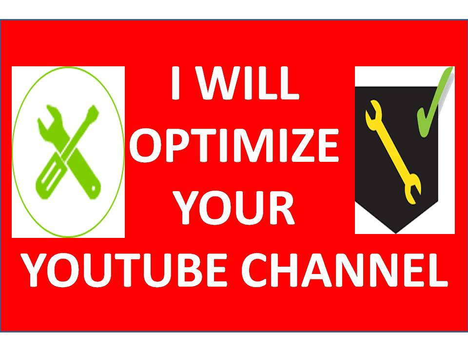 OPTIMIZE YOUR CHANNEL AND GET REAL AUDIENCE
