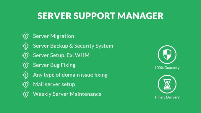 do any type of hosting support tasks