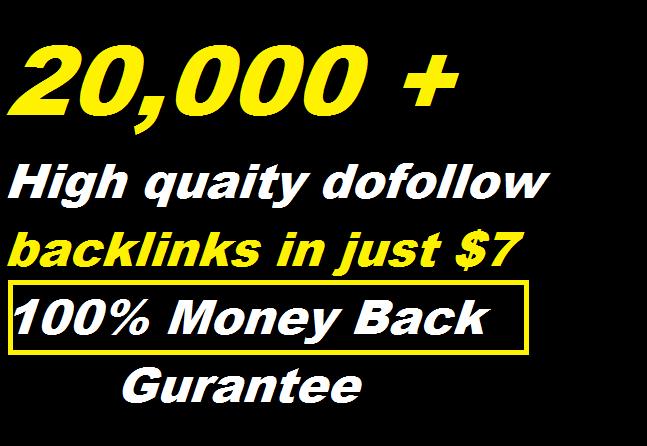 200,000 Gsa, Dofollow, Backlinks For Seo
