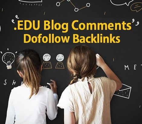 3 EDU Dofollow High Authority Blog Comments Backlinks Manually