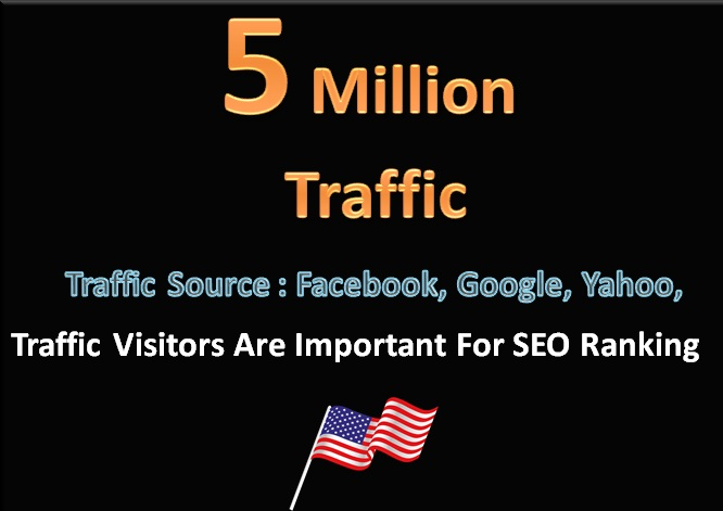 will 5 Million Traffic Search Engine Visitors Social Media