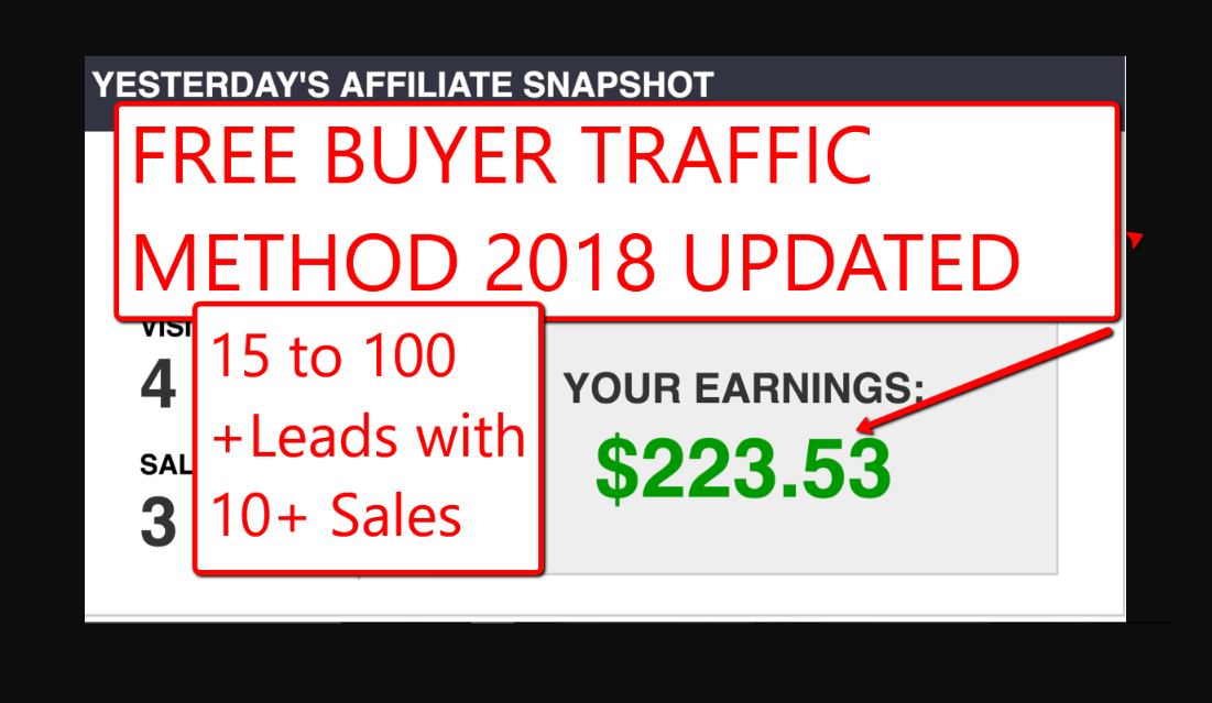Teach you how to unlimited free traffic on demand to your affiliate links