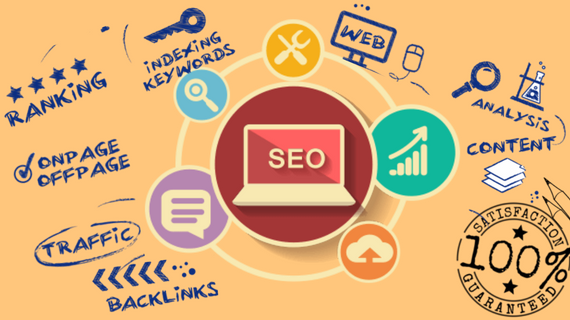 White hat organic SEO for your website with ranking guarantee