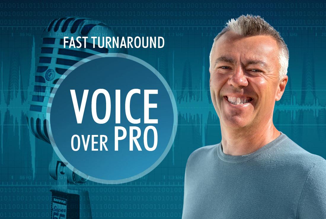 VOICEOVER Pro British FAST