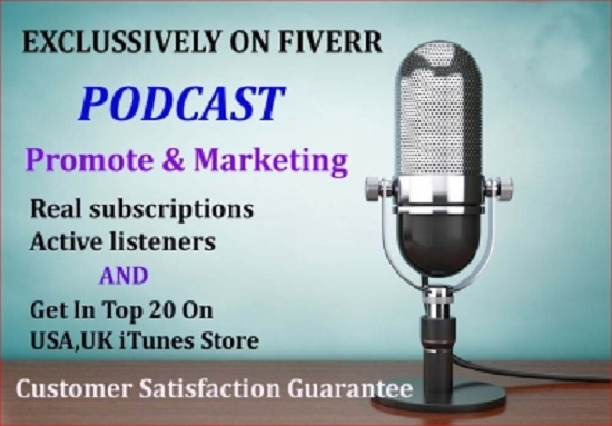 do your podcast promote and marketing downloads in iTunes store