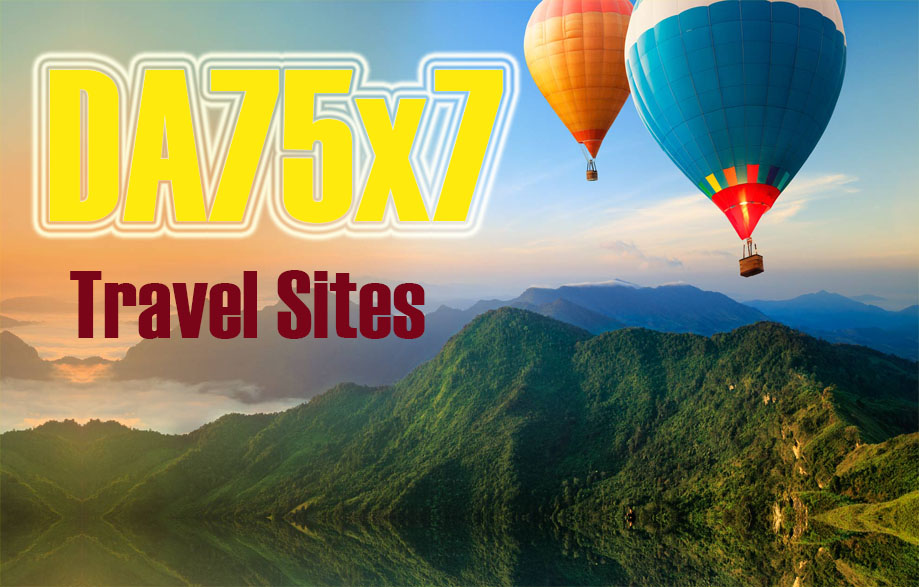 Give Link Da70x7 HQ Site Travel Blogroll Permanent