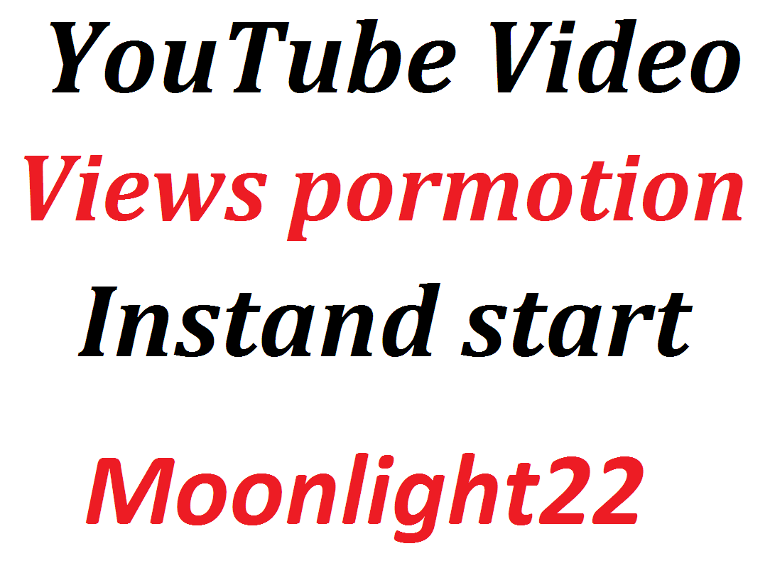 Do Professional Organic Top Youtube Video Promotion And Social Media Marketing