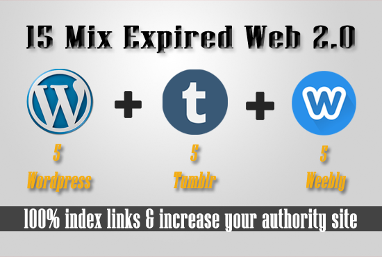 15 Expired Wordpress Weebly Blogspot with have PA