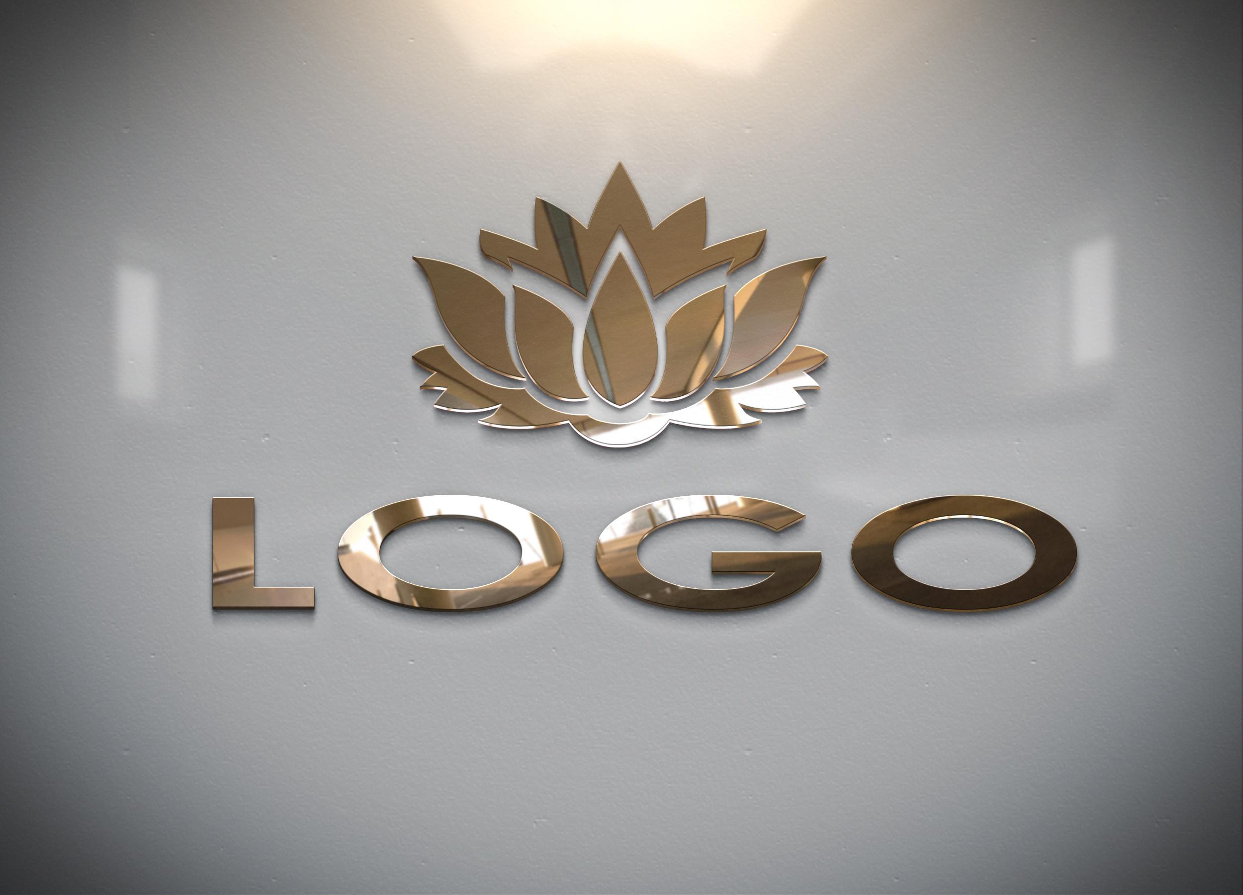 fast convert your logo into 3D MockUp design - sample no5