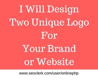 For just 5 dollar Get 2 Unique concept Design Logo fo...