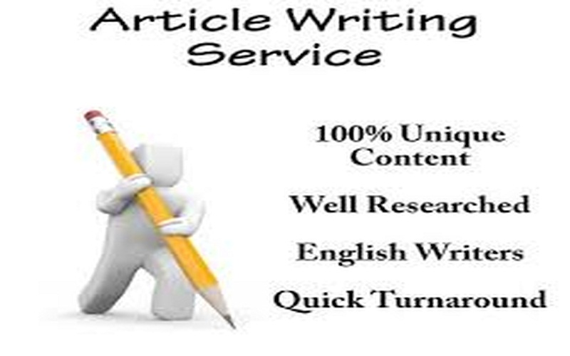 Write an article on any topic 500-650 Words