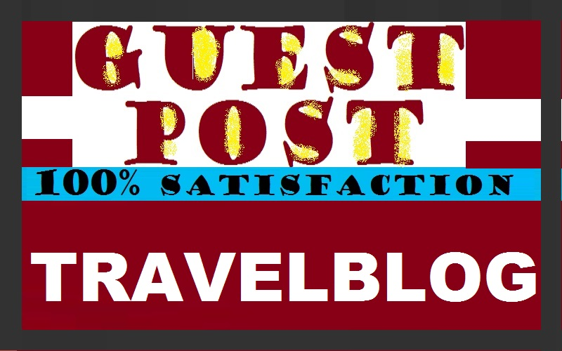 write and publish guest post on High Authority Travelblog with Dofollow Backlinks