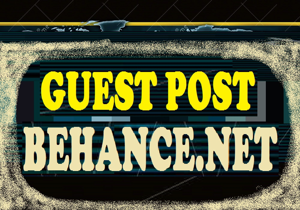 write and publish Guest post on BEHANCE. NET DA78 PA75 dofollow backlinks