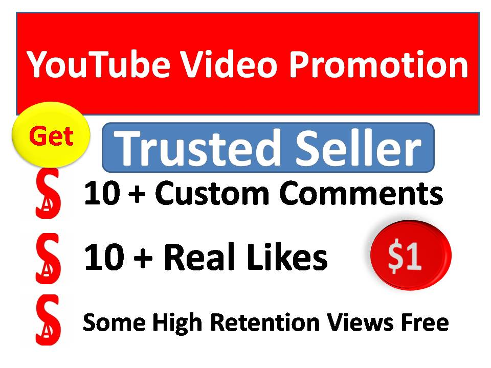 Instant start 21+ Organic Video Promotion with best quality