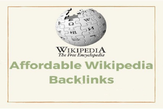 Give You High Quality & High DA, PA Permanent Wikipedia Homepage Backlinks