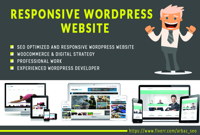 Design A Professional And Responsive Wordpress Websit...