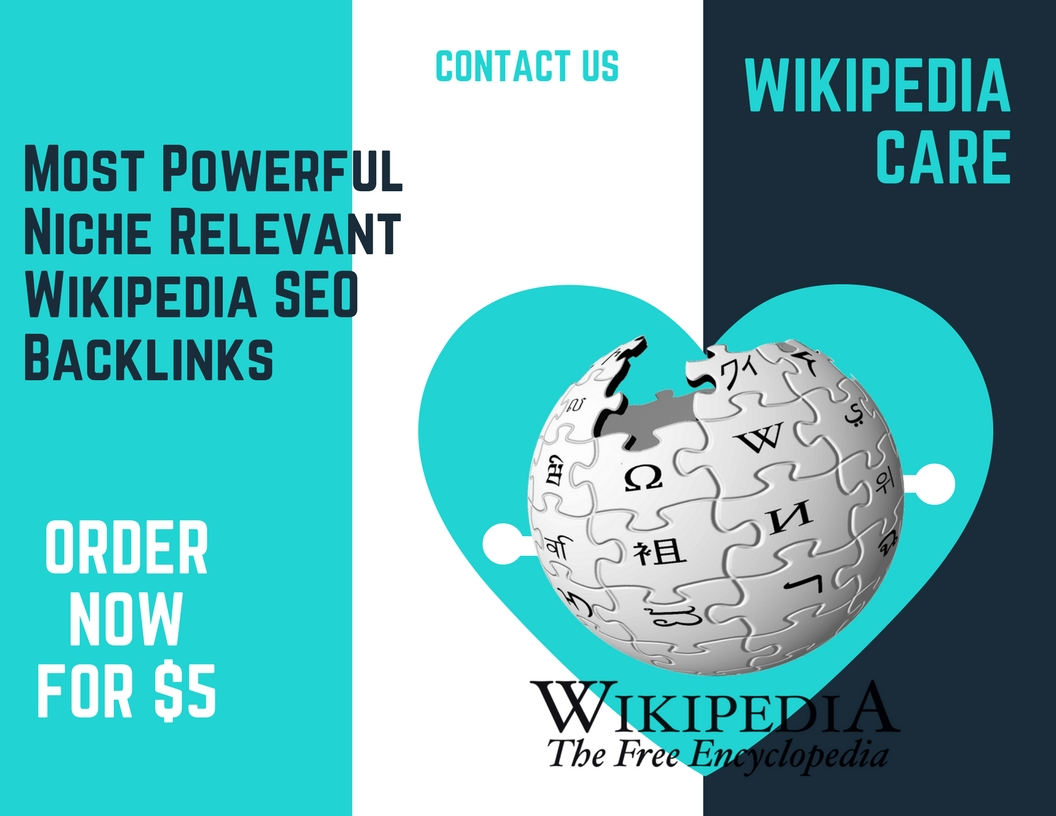 Most Powerful Niche Relevant Wikipedia SEO Backlinks