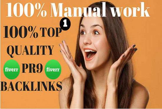 Provide Best 100 Pr9 Permanent Backlinks In 24 Hours