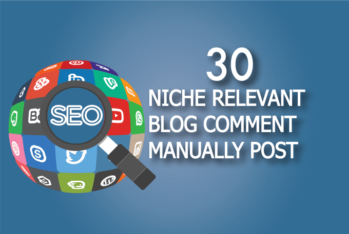 do niche relevant site blog comment manually post