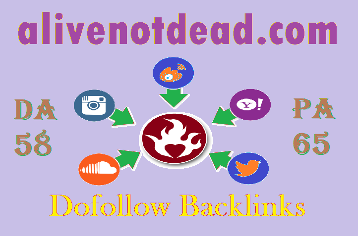 Write and publish A High Quality Guest Post On Alivenotdead. com With Dofollow Backlinks